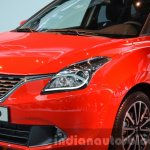 2016 Suzuki Baleno headlamp and grille at IAA 2015