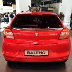 2016 Suzuki Baleno rear at IAA 2015 (first images)