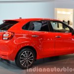 2016 Suzuki Baleno rear three quarters right angle at IAA 2015