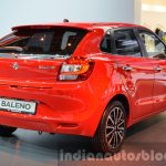 2016 Suzuki Baleno rear three quarters right at IAA 2015