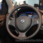 2016 Suzuki Baleno steering wheel at the IAA 2015