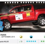2016 Toyota Hilux Latin NCAP crash test result