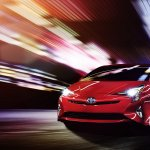 2016 Toyota Prius North American specification official image