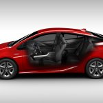 2016 Toyota Prius cabin North American specification official image