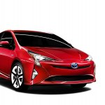 2016 Toyota Prius front three quarter left North American specification official image