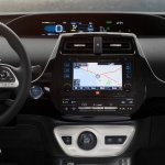 2016 Toyota Prius infotainment system North American specification official image