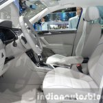 2016 VW Tiguan GTE Concept front seats at the IAA 2015