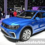 2016 VW Tiguan GTE Concept front three quarters right at the IAA 2015