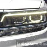 2016 Volkswagen Tiguan LED headlamp DRL at IAA 2015