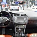 2016 Volkswagen Tiguan dashboard at IAA 2015