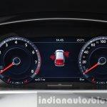 2016 Volkswagen Tiguan digital instrument cluster at IAA 2015