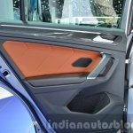 2016 Volkswagen Tiguan door trim at IAA 2015
