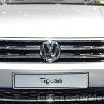 2016 Volkswagen Tiguan grille at IAA 2015