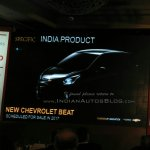 2017 Chevrolet Beat for India teased
