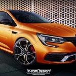 2017 Renault Megane RS Rendering