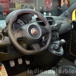 Abarth 695 Biposto Record edition interior at the IAA 2015