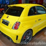 Abarth 695 Biposto Record edition rear three quarter at the IAA 2015
