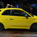 Abarth 695 Biposto Record edition side at the IAA 2015