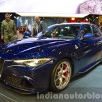 Alfa Romeo Giulia front three quarter at the IAA 2015