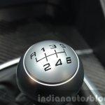 Alfa Romeo Giulia gear knob at the IAA 2015