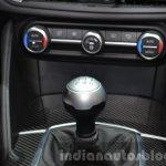 Alfa Romeo Giulia gear lever at the IAA 2015