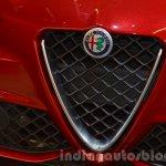 Alfa Romeo Giulia grille at the IAA 2015