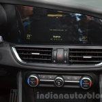 Alfa Romeo Giulia infotainment display at the IAA 2015