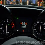 Alfa Romeo Giulia instrument cluster at the IAA 2015