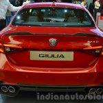 Alfa Romeo Giulia rear at the IAA 2015