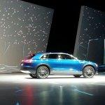 Audi Q6 etron quattro concept rear three quarter