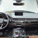 Audi Q7 e-tron quattro dashboard at the IAA 2015