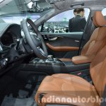 Audi Q7 e-tron quattro front cabin at the IAA 2015