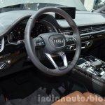 Audi Q7 e-tron quattro interior at the IAA 2015