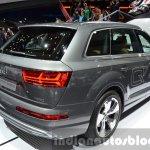 Audi Q7 e-tron quattro rear three quarter at the IAA 2015