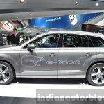 Audi Q7 e-tron quattro side at the IAA 2015