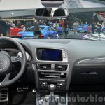 Audi SQ5 TDI Plus dashboard at IAA 2015