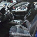 Audi SQ5 TDI Plus front seats at IAA 2015