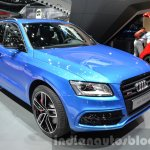 Audi SQ5 TDI Plus front three quarter left at IAA 2015