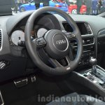Audi SQ5 TDI Plus interior at IAA 2015