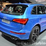 Audi SQ5 TDI Plus rear three quarters at IAA 2015
