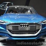 Audi e-tron quattro concept front at the IAA 2015