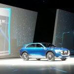 Audi Q6 e-tron quattro concept front three quarter