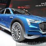 Audi e-tron quattro concept front three quarter low at the IAA 2015