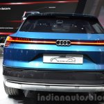 Audi e-tron quattro concept rear at the IAA 2015