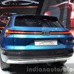 Audi e-tron quattro concept rear quarter at the IAA 2015