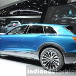 Audi e-tron quattro concept rear thee quarter at the IAA 2015