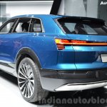 Audi e-tron quattro concept rear three quarter (1) at the IAA 2015