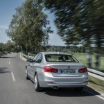 BMW 330e PHEV rear quarter unveiled
