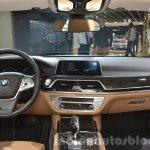 BMW 740Le plug-in hybrid dashboard at IAA 2015