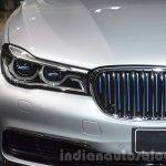 BMW 740Le plug-in hybrid headlamp at IAA 2015